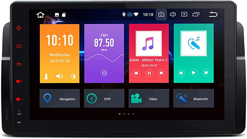 Xtrons 9 Inch Android 4gb Ram 64gb Rom Car Radio With Touch Screen Android 9 0 Octa Core Car Stereo Supports 4g Wifi Bluetooth Dab Obd2 Tpms