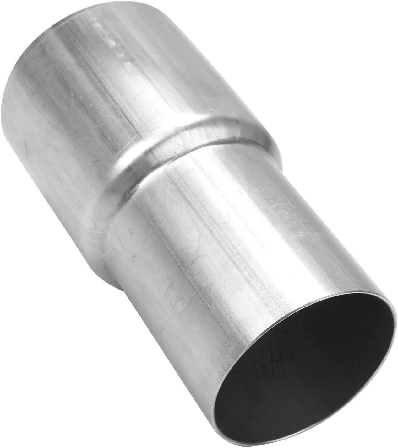 ILS 2.5inch 63mm to 3inch 76mm OD Stainless Steel Weldable Exhaust Muffler Pipe Reducer Adapter