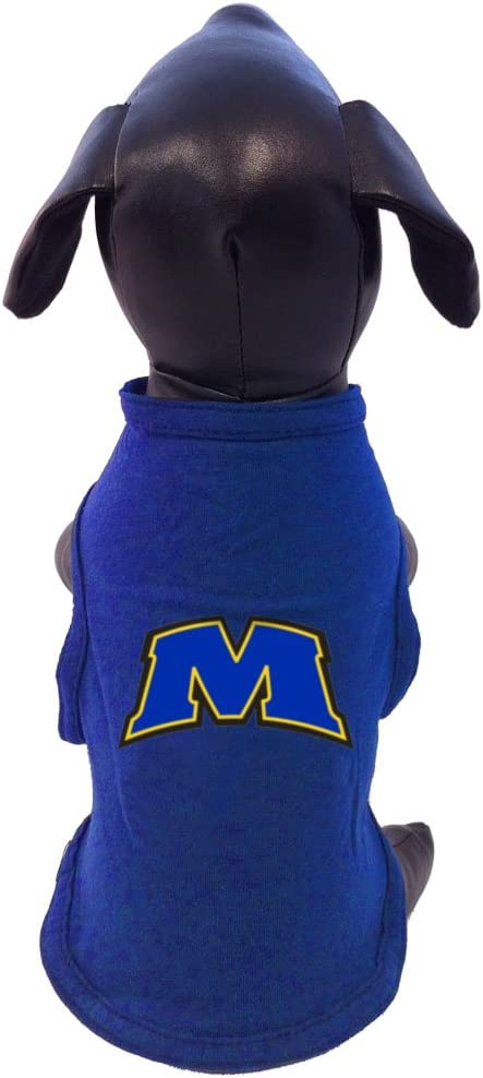 NCAA Morehead State Eagles Cotton Lycra Dog Tank Top Tiny