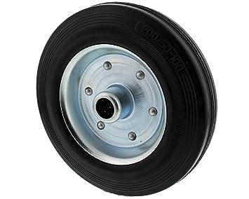 Llanta de acero, neumáticos de goma Chapa de acero Llanta para rueda jockey: Amazon.es: Coche y moto