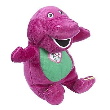 Amazon Com Barney I Love You Barney Singing Plush Doll Toys Games