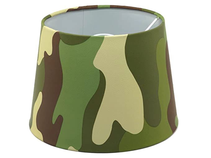 Camouflage Lampshade Or Ceiling Light Shade 9.5u0026quot; DUAL PURPOSE Boys Camo  Army Bedroom Accessories Decor