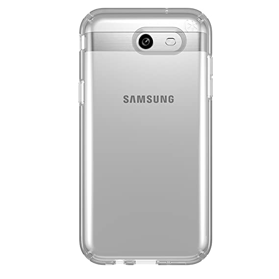 c1bee13e68 Image Unavailable. Image not available for. Color: Speck Products Presidio  Case for Samsung J7 (2017) Smartphone - Clear