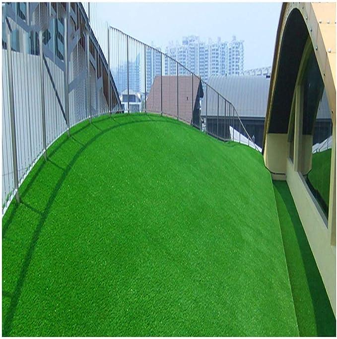 Césped Artificial, Césped Artificial Blando para Cerramiento De Jardín De Golf Estera De Césped Sintético Altura De Césped 1.5 Cm Tamaño 2 * 2.5 M (Color : Emerald Green): Amazon.es: Hogar