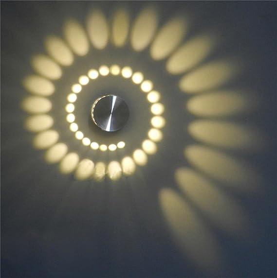 Amazon ep 3w spiral led wall sconce ceiling light bedroom ep 3w spiral led wall sconce ceiling light bedroom vestibule foyer cafe led lamp aloadofball Images