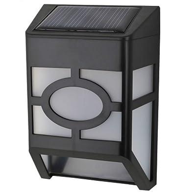 économiser l'énergie solaire Applique murale Lampes solaires pour l'intérieur et l'extérieur, capteur de mouvement matone résistante aux intempéries intelligente Modes lampe solaire L