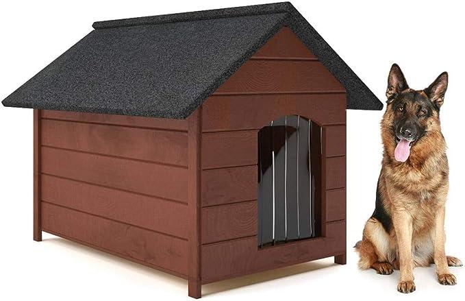 Caseta de Perro de Madera, tamaño XL, Muchos Modelos: Amazon.es: Productos para mascotas