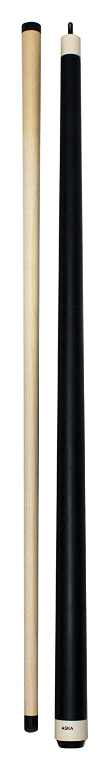 25-ounce Heavy Hitter Matte Black Jump Break Cue Stick Aska JBC, 3pc Cue, Jump / Break Cue. 14-mm Tip, Hard Rock Canadian Maple Shaft ASKA BILLIARDS