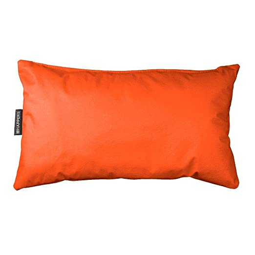 Happers Cojín 50x30 Polipiel Indoor Naranja