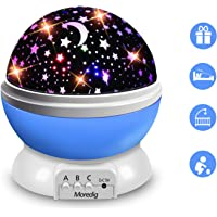 Moredig Lampara Proyector Infantil, 360° Rotación y 8