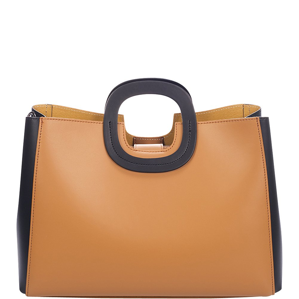 Markese Top Handle Tote (Cognac Summer)