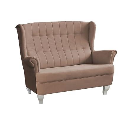 Design Zweisitzer Sofa Windsor Modernes Couch Couchgarnitur