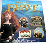 Disney Pins - Merida Brave 4 Trading Pin Booster Set