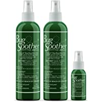 Bug Soother Spray (2, 8 oz) - Natural Insect, Gnat and Mosquito Repellent & Deterrent - DEET Free - Safe Bug Spray for…