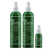 Bug Soother Spray (2, 8 oz) - Natural Insect, Gnat and Mosquito Repellent & Deterrent...
