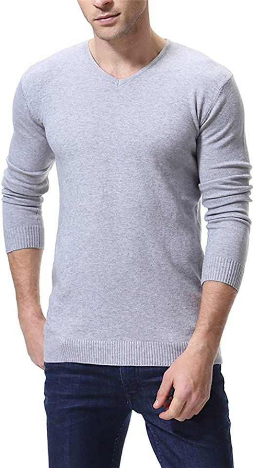 IFOUNDYOU Mens Sweater Mens Autumn Winter Ethnic Style Knitted Sweatshirt Man Casual O-Neck Classic Basic Shirt Large Size Pullover Jumper Slim Outwear Sports Tops