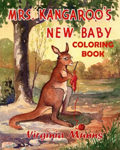 Mrs. Kangaroo's New Baby Coloring Book