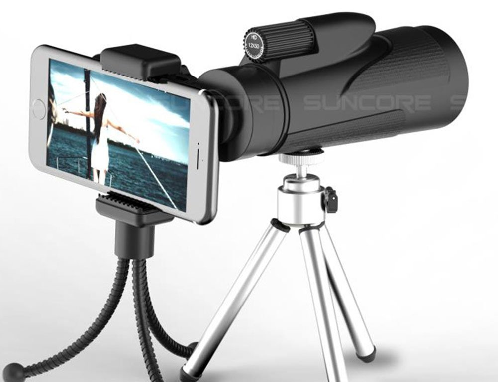 Fernglas high power prisma monocular und quick smartphone