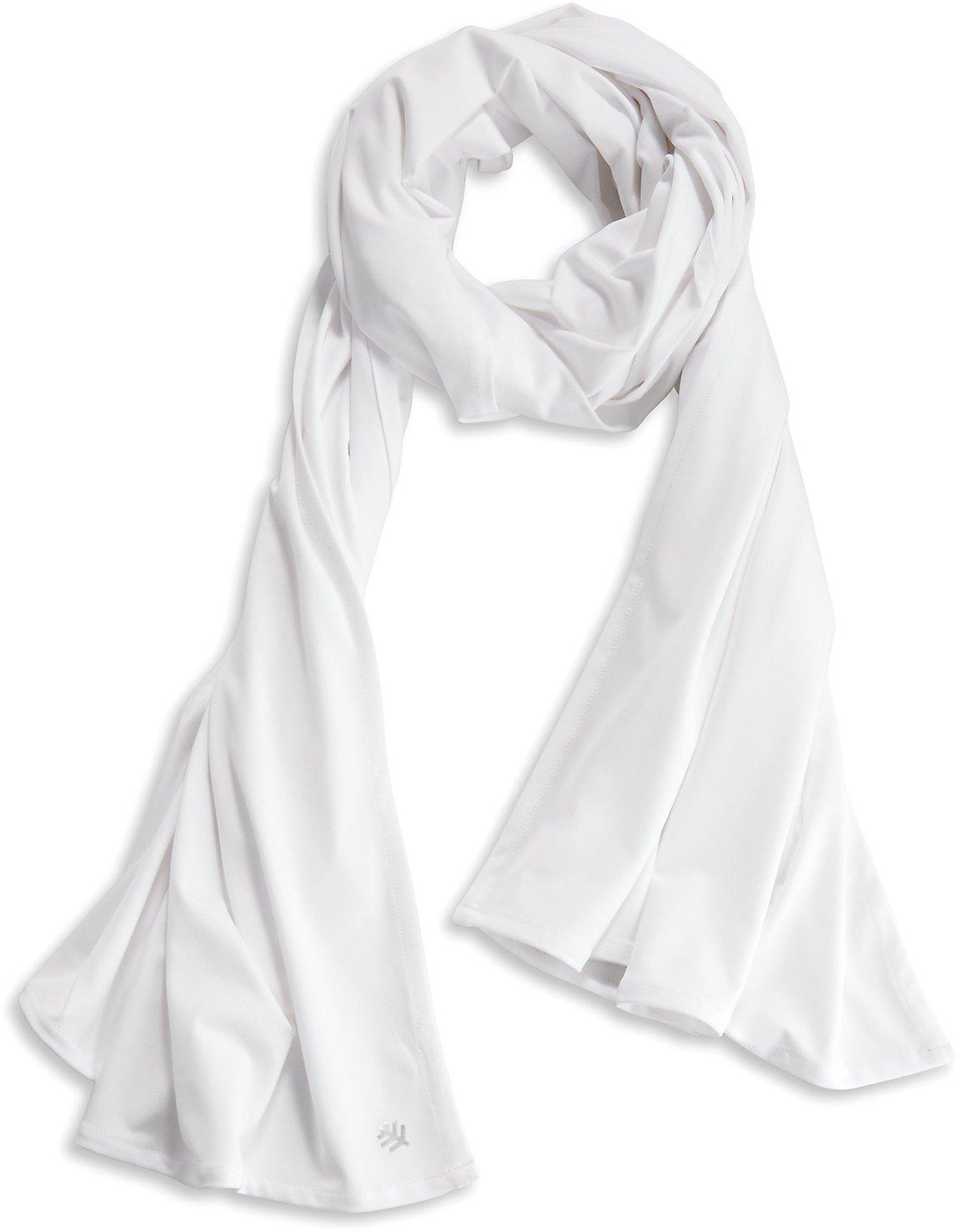 Coolibar UPF 50+ Women's Sun Shawl - Sun Protective (One Size- White) by Coolibar