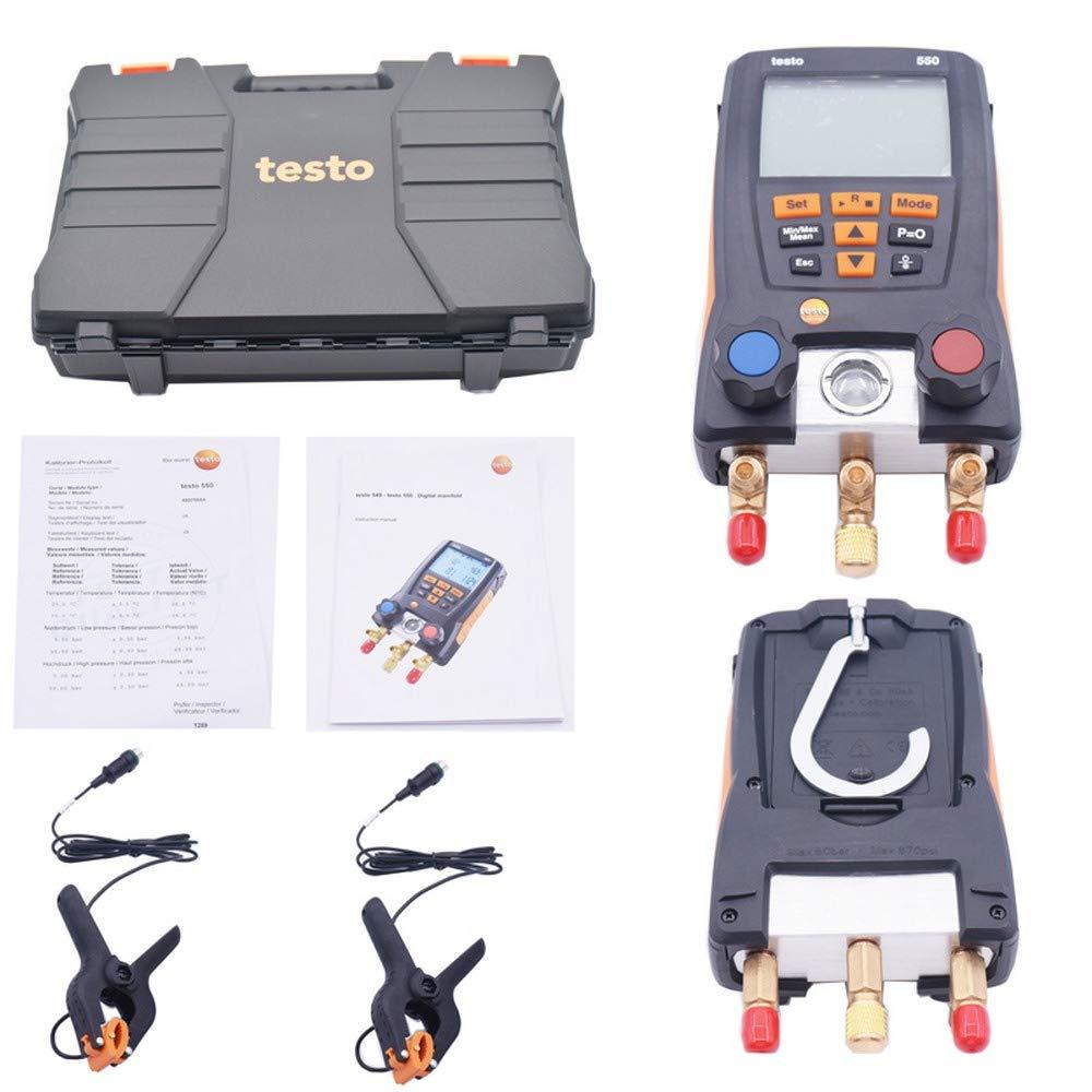 Hengyuanyi 550/refrigerazione kit digitale 0563/1550/con 2PCS morsetto sonde