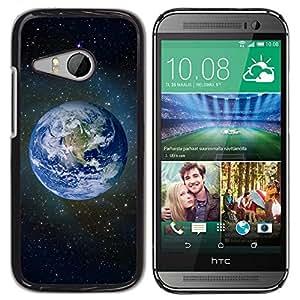 Be Good Phone Accessory // Dura Cáscara cubierta Protectora Caso Carcasa Funda de Protección para HTC ONE MINI 2 / M8 MINI // Planet Earth Space Photo