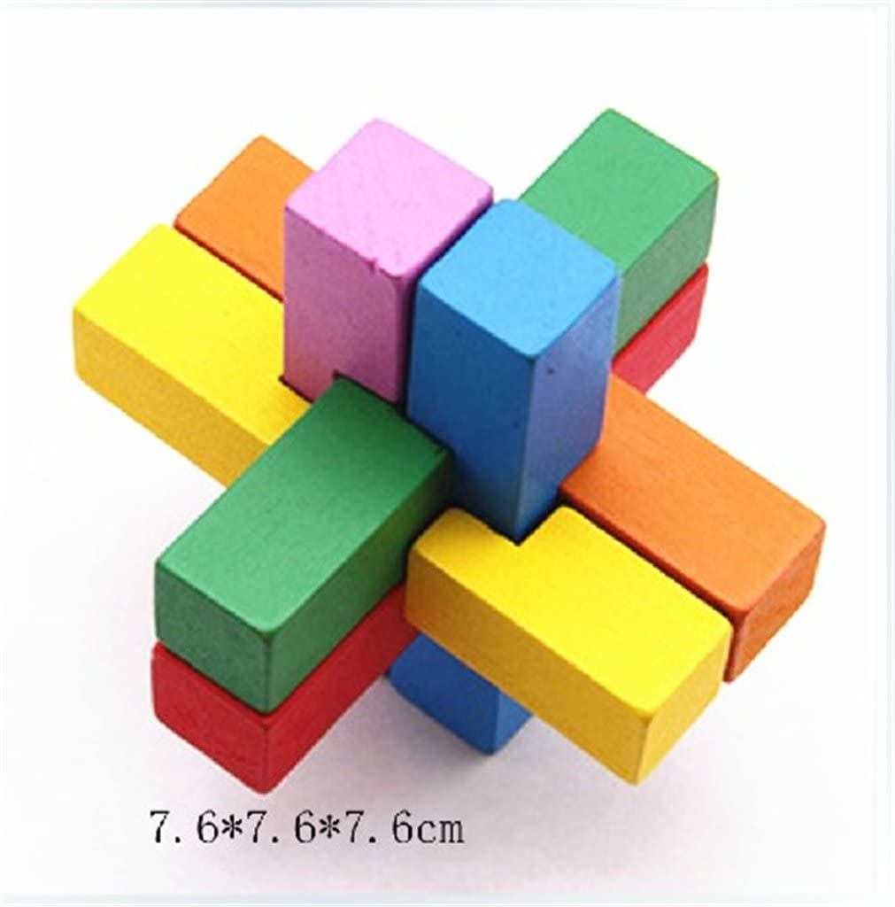 Holzsammlung Set da 18 Rompicapo in Legno Gioco di Cube 3D Puzzle - Perfetto Regalo di Natale per i Tuoi Famiglia #11 #10