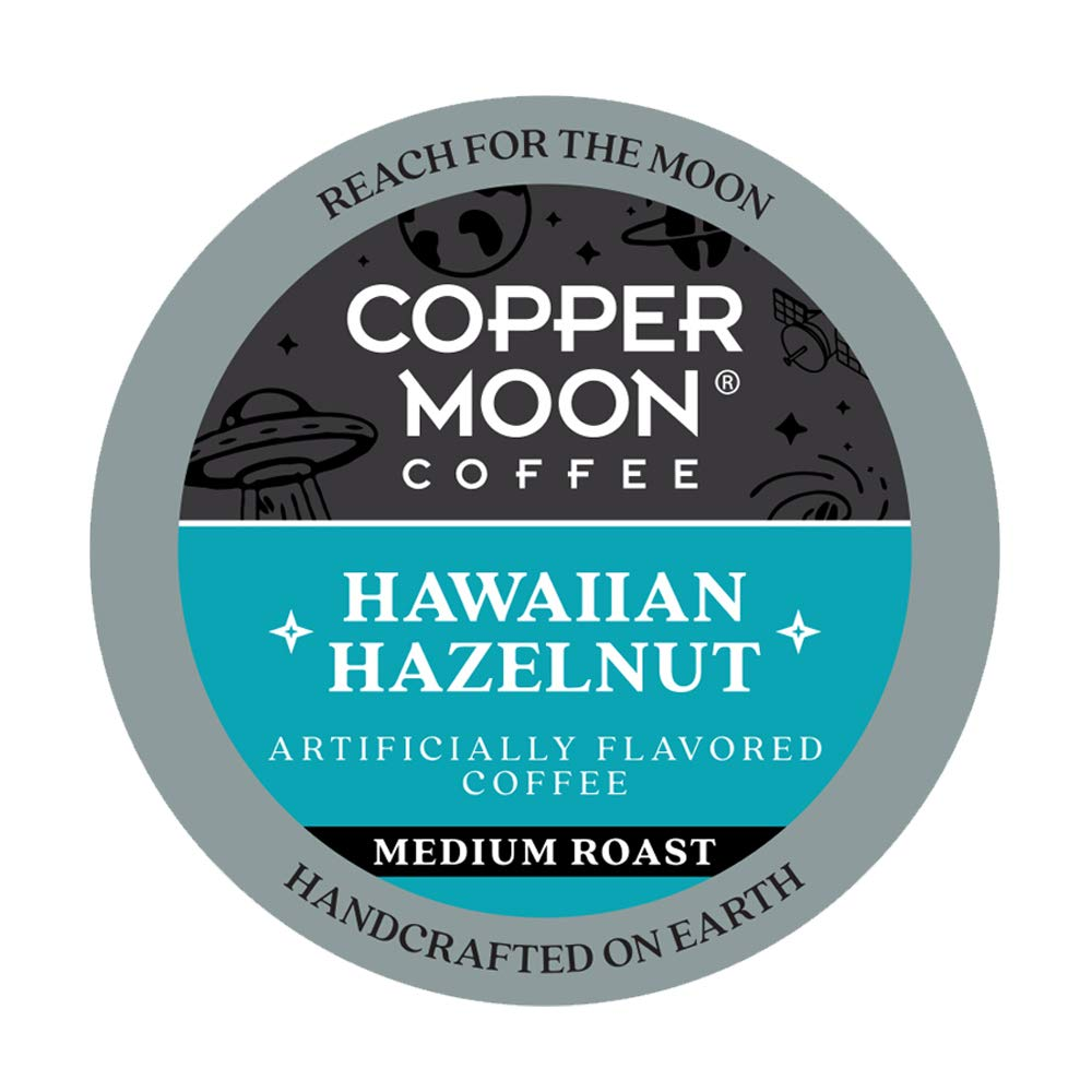 Copper Moon Hawaiian Hazelnut Blend, Medium Roast Coffee, 40 Ct. (292145)