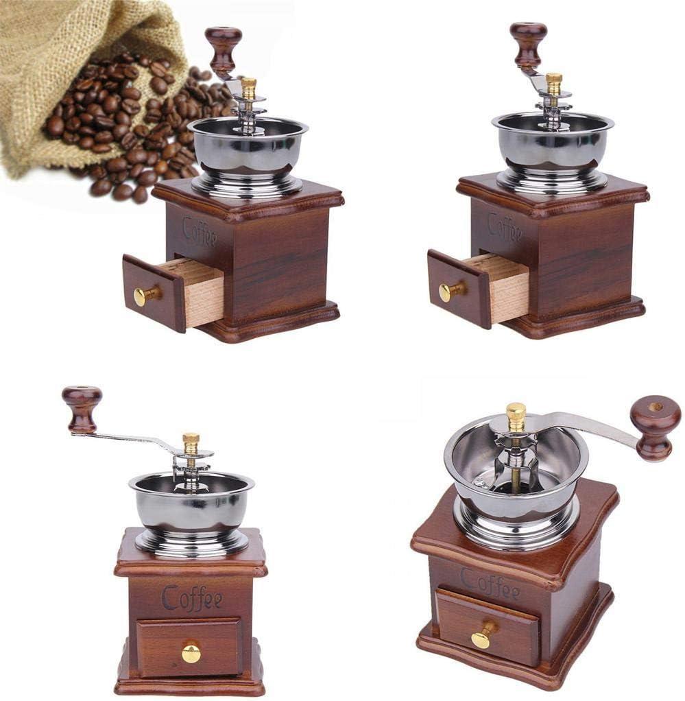 ZGSP Mini Portable Durable Manual Coffee Grinder Household ...