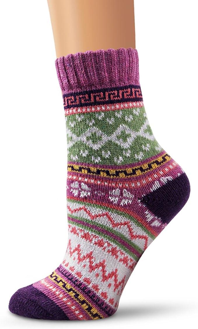 Classy Handmade Wool Socks Ladies 5-7