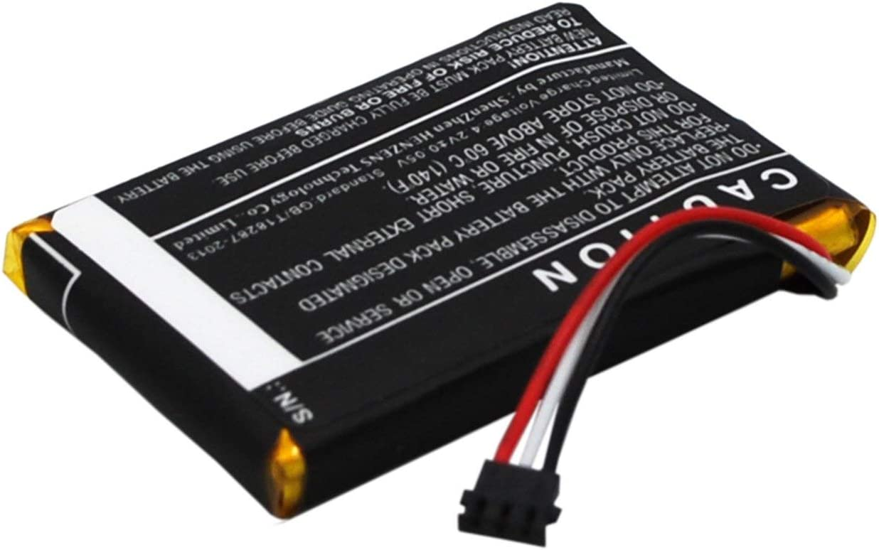 400mAh//1.48Wh VINTRONS Replacement Battery for Garmin 361-00069-00, ,