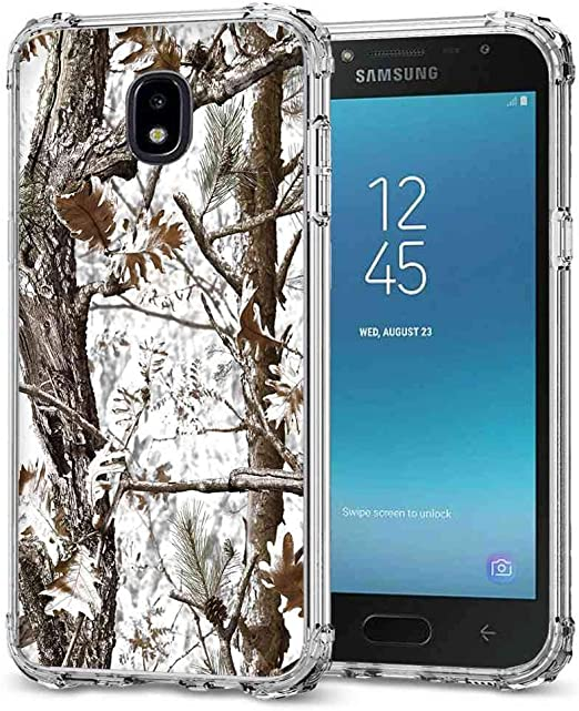 Coque Samsung Galaxy J3 2018 Camo Case BAYKE Slim TPU Bumper Coque de protection avec coins renforcés pour Samsung Galaxy J3 2018, J3V J3V 3ème Gen, ...