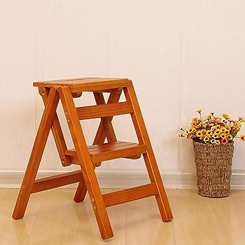 Amazon.com: SFZMRYLSY Silla plegable de madera maciza ...