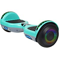 """$88 » SISIGAD Hoverboard Self Balancing Scooter 6.5"""" Two-Wheel Self Balancing Hoverboard with…"""