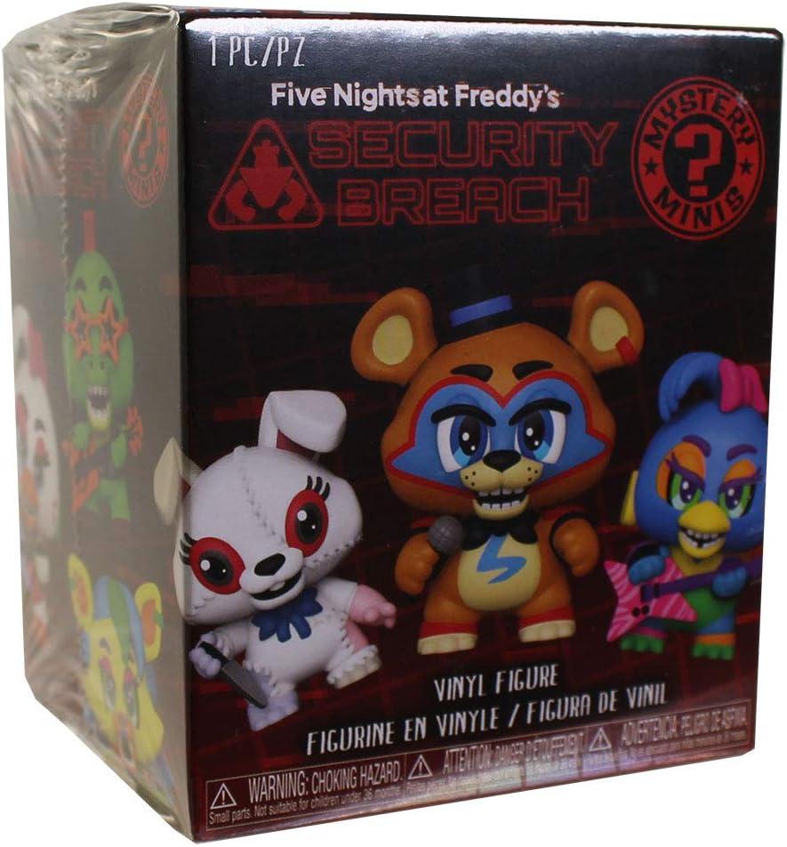 Multicolore Funko Five Nights at Freddys Pizza Plex FNAF Figurine de Collection Mystery Minis 49688