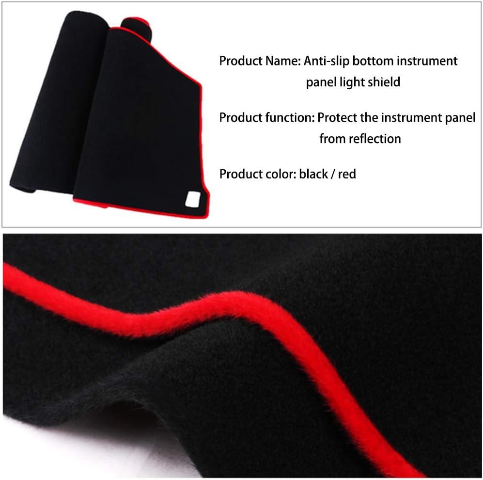 Custom Dash Board Cover Mat for Jaguar Q6 Dashboard Dash Protector Easy Installation Black