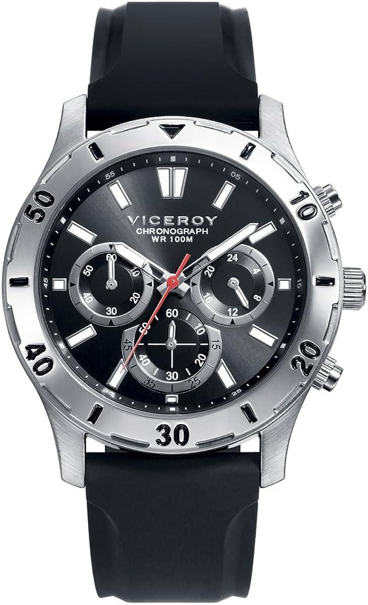 Reloj Viceroy Hombre Crono Negro 401133-57