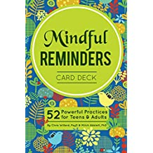 Mindful Reminders Card Deck: 52 Powerful Practices for Adults