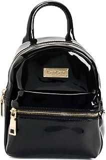 62a39b4f0452 BEBE Womens and Girls Mini Glossy Backpack