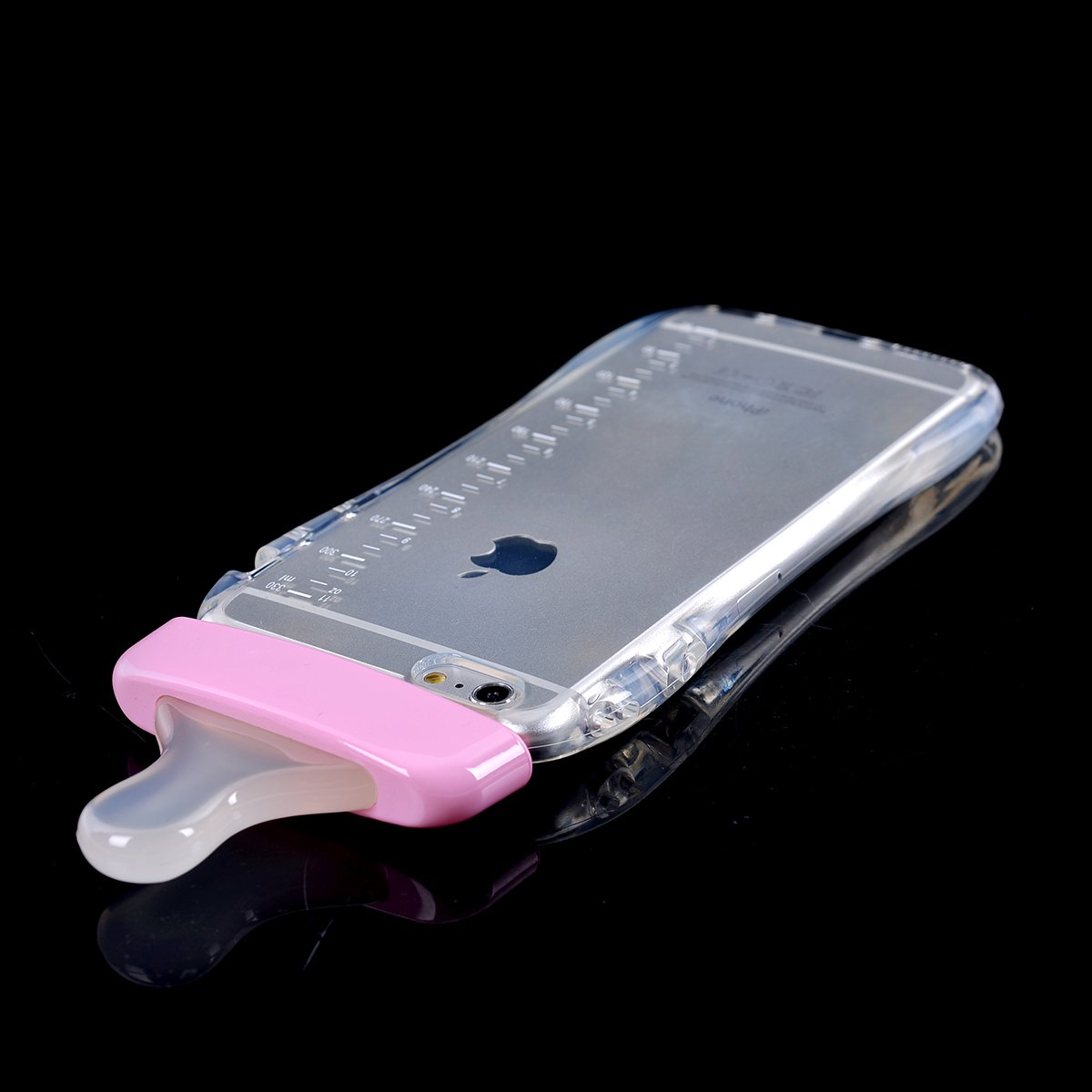 Generic Baby Bottle Cute 3d Tpu Soft Pregnant Woman Milk Case Led Iphone 6 Plus Clear Lanyard Cover For Pink Cell Phones Accessories