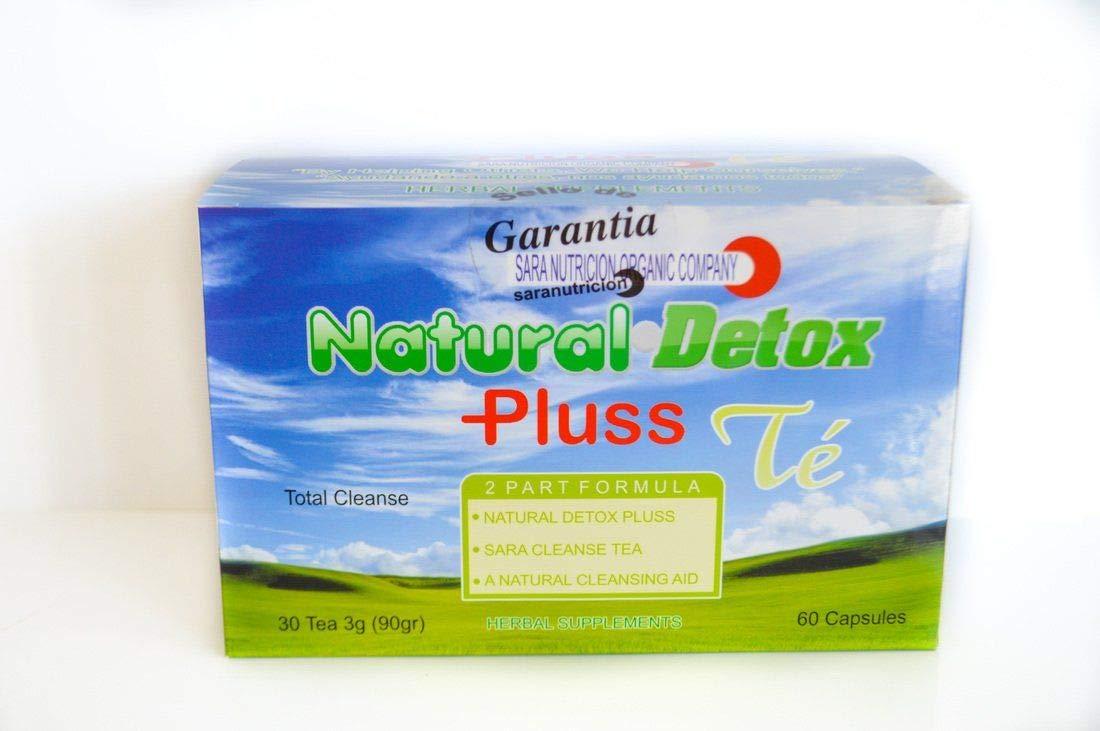 Amazon.com: Natural Detox Plus and Tea Detox Steva Leaf Ampk ...