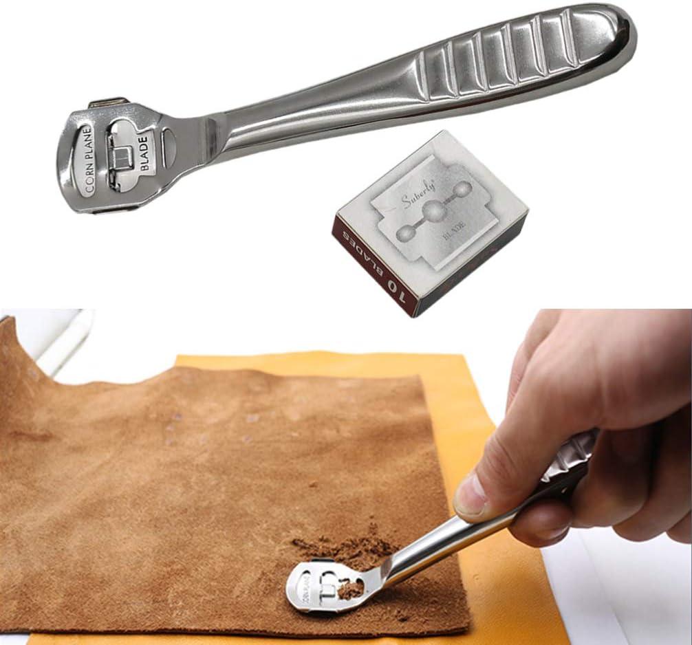 iplusmile 1 Satz Lederhandwerks-Skiving-Werkzeug Leder-Ausd/ünnungsschaufel-Schneidmesser-Werkzeuge Leder-Kunstbedarf f/ür Den Laden im Laden B