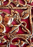Kalender 2013 - Red Ornament: DIN A5, 1 Woche auf einer Doppelseite (German Edition)