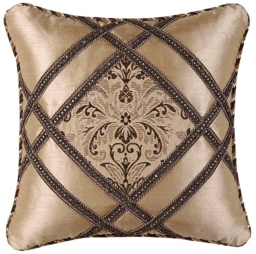 Jennifer Taylor Broderick Collection Pillow, 18-Inch by 18-Inch