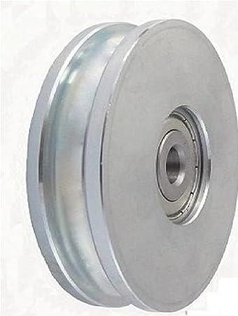 Zabi Seilrolle 79 mm fur Seil 8 mm Metallprofilrollen d=79mm/8 mit ...