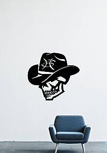 Heroes Del Silencio Skull Spanish Rock Band Hat Wall Decals Decor Vinyl Sticker GMO1475