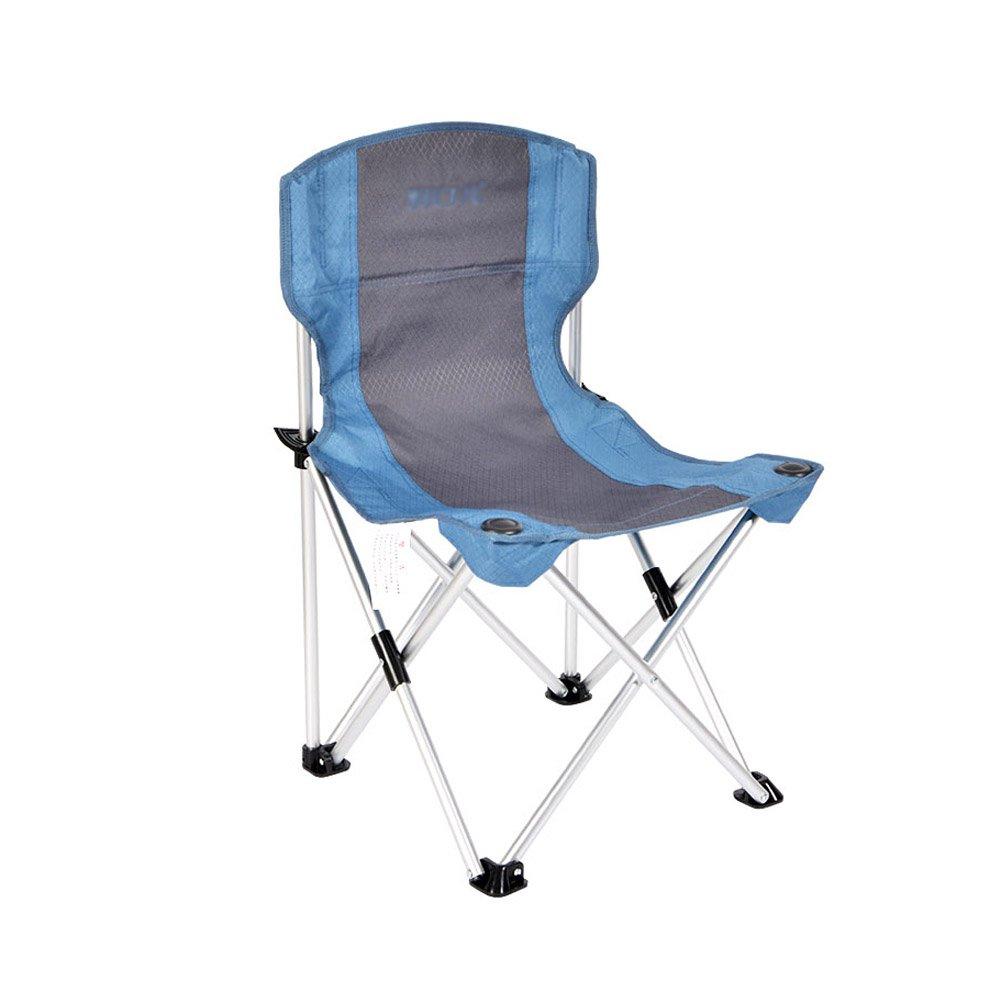 WUPO Faltbarer Stuhl Im Freien Tragbarer Strandfischen-kampierender Stuhl Aluminium Mittleres Gewicht 100kg