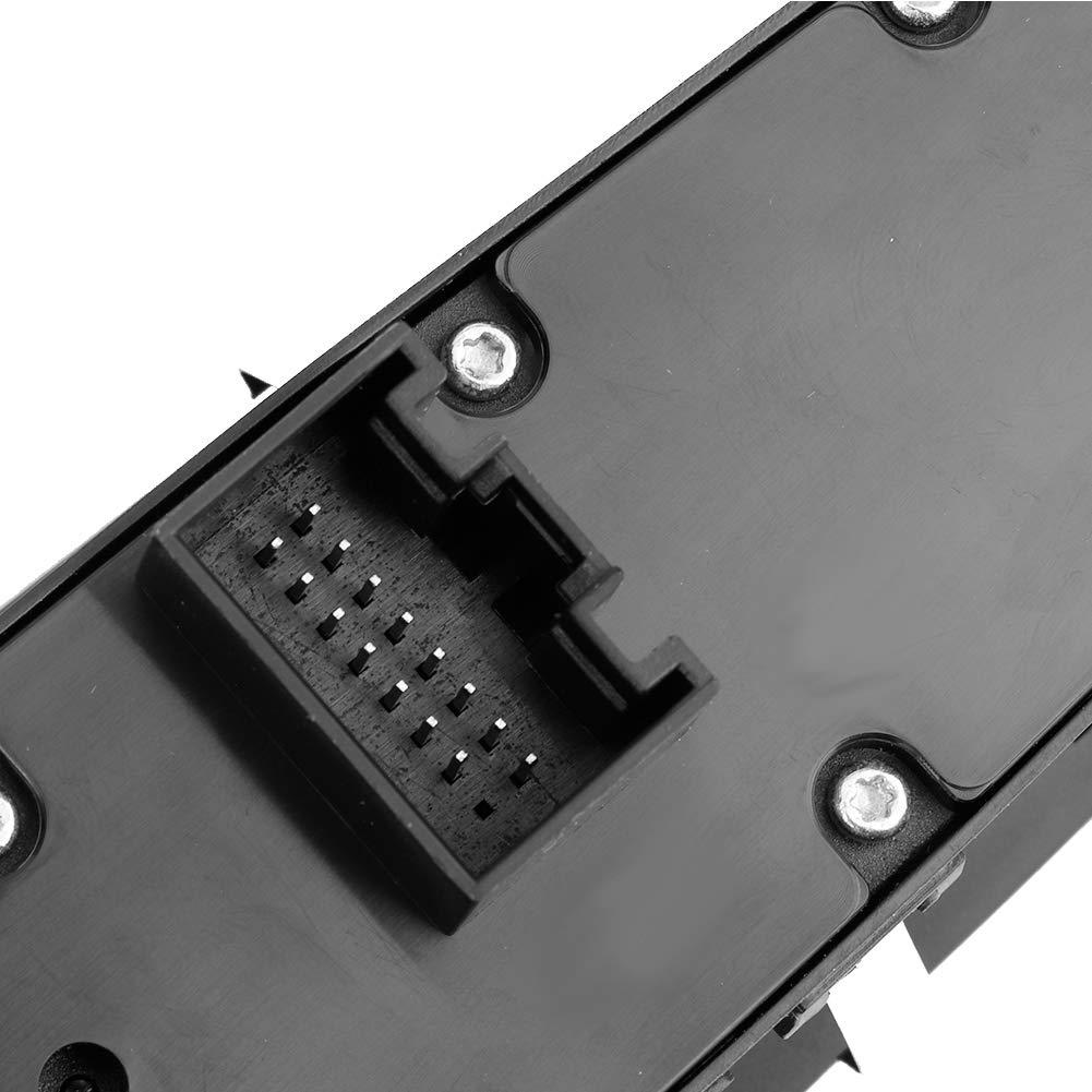 Fydun Interrupteur principal de commande de fen/être /électrique Commutateur de fen/être pour Cayenne 7PP-959-858-M-DML 7PP-959-858-Q-DML 958-613-156-20-DML