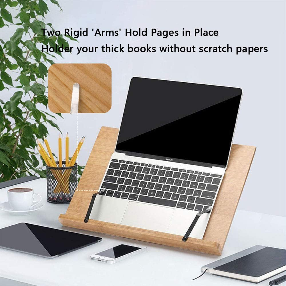 supporto in legno per libri di musica portatili ecc. Lenhart iPad libri di cucina