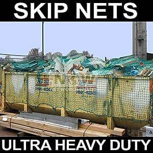 Skip/Nets remolque Nets/maletero Nets (estructura) (verde) **5 tamaños!** [ red World sports]