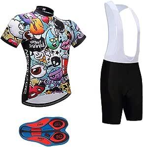 Moxilyn Ropa Ciclismo Hombre Traje de Bicicleta Ciclismo Conjunto para Verano Maillot Ciclismo Hombre+9D Gel Culotte Ciclismo: Amazon.es: Deportes y aire libre